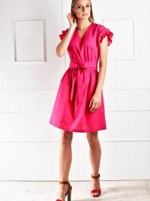 catiusha vasarinė suknelė Lome rožinė