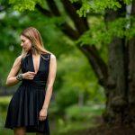Juoda multi way rišama suknelė