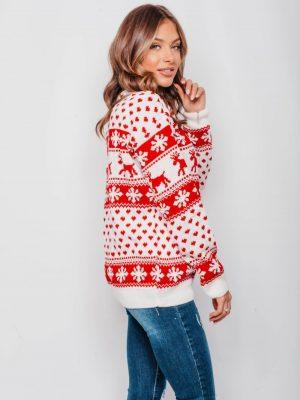 margas kaledinis megztinis0