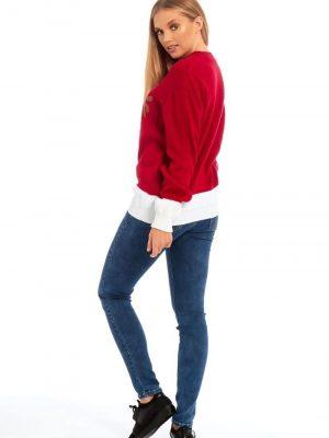 raudonas kaledinis megztinis2
